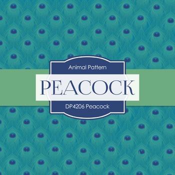Digital Papers - Peacock (DP4206)