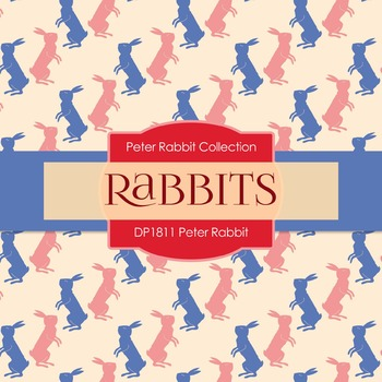 Digital Papers - Peter Rabbit (DP1811)