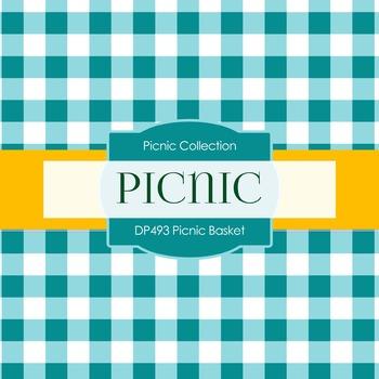 Digital Papers - Picnic Basket (DP493)