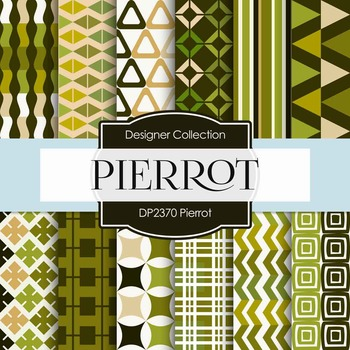 Digital Papers - Pierrot (DP2370)