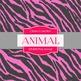 Digital Papers - Pink Animal (DP4092)