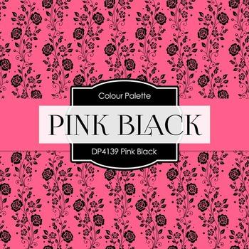 Digital Papers - Pink Black (DP4139)