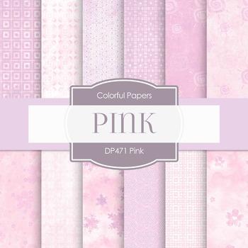 Digital Papers -  Pink (DP471)