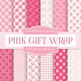 Digital Papers - Pink Gift Wrap (DP2108)