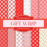 Digital Papers - Pink Gift Wrap (DP2245)
