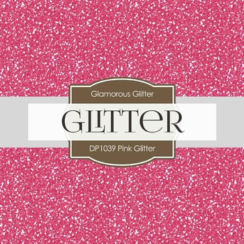 Digital Papers - Pink Glitter (DP1039)