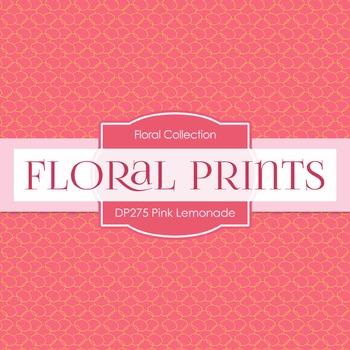 Digital Papers -  Pink Lemonade (DP275)