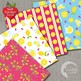 Pink Lemonade Stand Digital Papers, Summer Theme {Best Teacher Tools} AMB-895