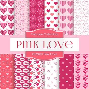 Digital Papers - Pink Love (DP2100)