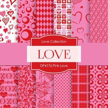 Digital Papers - Pink Love (DP4176)