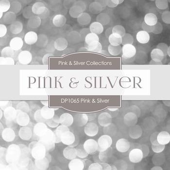 Digital Papers - Pink & Silver (DP1065)