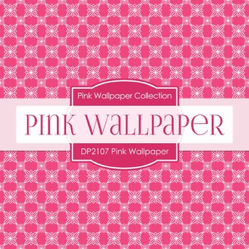 Digital Papers - Pink Wallpaper (DP2107)
