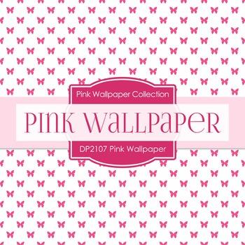 Digital Papers - Pink Wallpaper (DP2107)