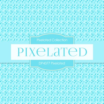 Digital Papers - Pixelated (DP4377)