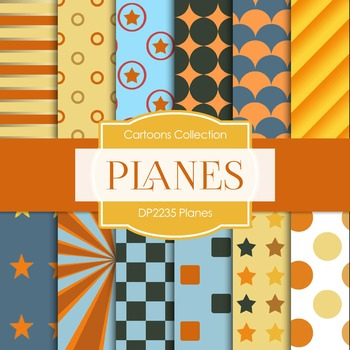 Digital Papers - Planes (DP2235)
