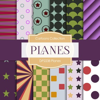 Digital Papers - Planes (DP2238)