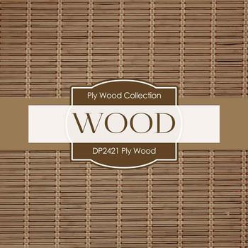 Digital Papers - Ply Wood (DP2421)