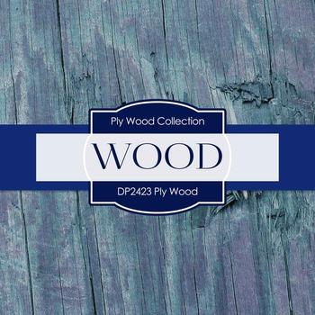 Digital Papers - Ply Wood (DP2423)