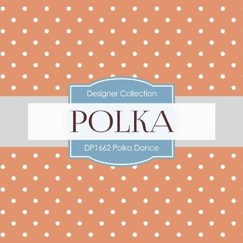 Digital Papers -  Polka Dance (DP1662)