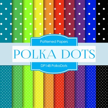 Digital Papers - Polka Dots (DP148)