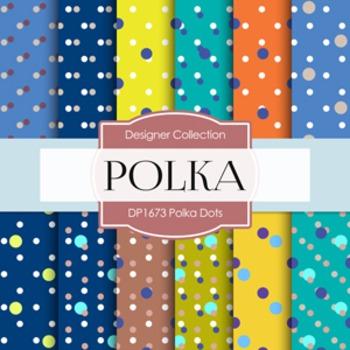 Digital Papers -  Polka Dots (DP1673)