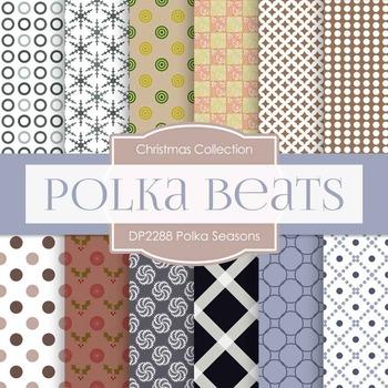Digital Papers - Polka Seasons (DP2288)
