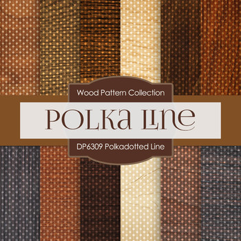 Digital Papers - Polkadotted Line (DP6309)