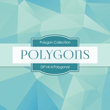 Digital Papers - Polygonal (DP1414)