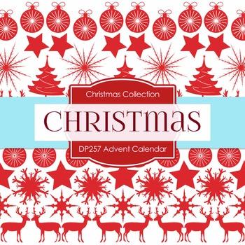 Digital Papers - Advent Calendar (DP257)