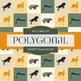 Digital Papers - Polygonal Zoo (DP6520)