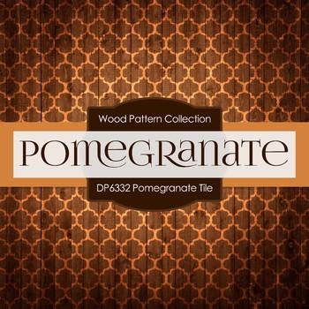 Digital Papers - Pomegranate Tile (DP6332)