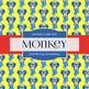 Digital Papers - Pop Art Monkey (DP6799)