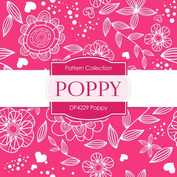 Digital Papers - Poppy (DP4229)