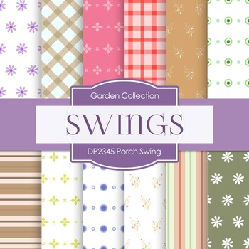 Digital Papers - Porch Swing (DP2345)