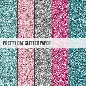 Digital Papers ~Pretty Day~ Glitter Paper {Ink n Little Things}