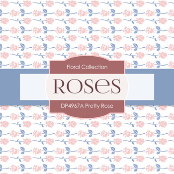 Digital Papers - Pretty Rose (DP4967A)