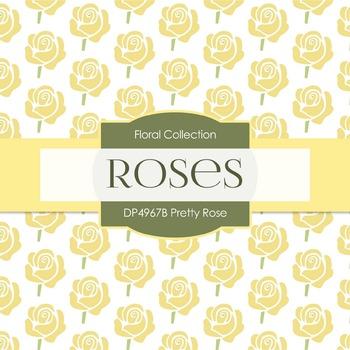 Digital Papers - Pretty Rose (DP4967B)