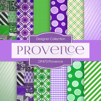 Digital Papers - Provence (DP473)