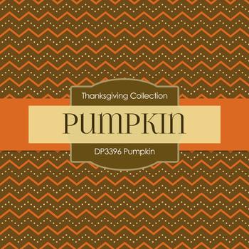 Digital Papers - Pumpkin (DP3396)