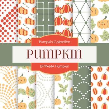 Digital Papers - Pumpkin (DP4964A)