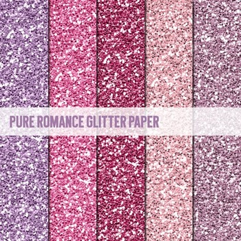 Digital Papers ~Pure Romance~ Glitter Paper {Ink n Little Things}