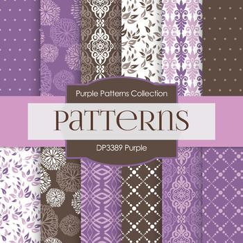 Digital Papers -Purple (DP3389)