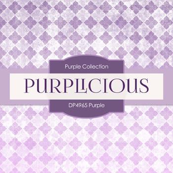 Digital Papers - Purple (DP4965)