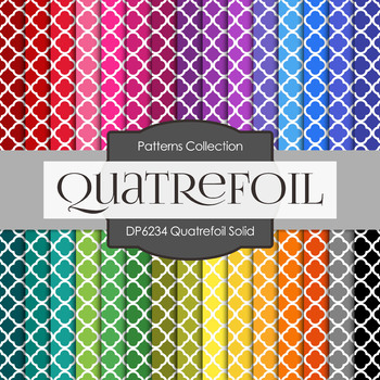 Digital Papers - Quatefoil Solid (DP6234)