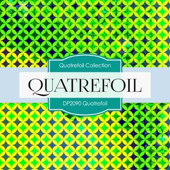 Digital Papers - Quatrefoil (DP2090)
