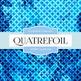 Digital Papers - Quatrefoil (DP2091)