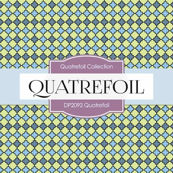 Digital Papers - Quatrefoil (DP2092)