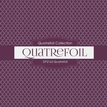 Digital Papers - Quatrefoil (DP2163)
