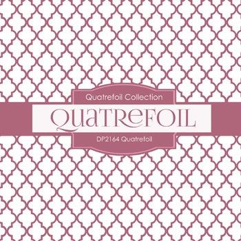 Digital Papers - Quatrefoil (DP2164)