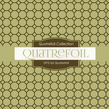 Digital Papers - Quatrefoil (DP2165)